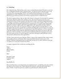 letter format resignation letter seangarrette coletter format writing a letter of resignation writing letter resignation examples of a letter of resignation for teachers