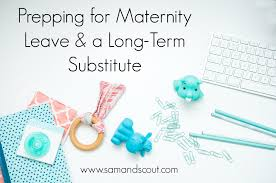Reader Advice On Maternity Leave And Prepping For A Long Term Sub