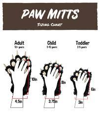 Wolf Paw Mitt Lazyone