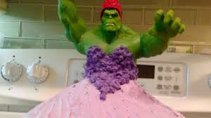 Twin 4 Year Old Girls Hulk Princess Birthday Cake Smashes Sweet