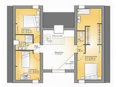 Elegant Plans De Maison : 1er étage Du Modèle Concept. Maison Moderne à étage De  130m2. 3 Chambres + 1 Suite Parentale #Maison #contemporaine #Bioclimatique  ...