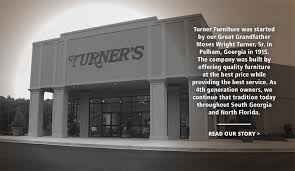 Shop Turners Fine Furniture in Albany Tifton Valdosta