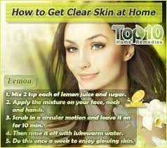 home remes for skin care