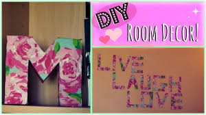 Room Decor Diy Diy 2 Easy Room Decor Ideas Youtube