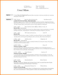 12 Resumes For Security Guards Applicationleter Com