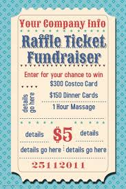 template raffle tickets raffle ticket fundraiser movie party flyer poster template