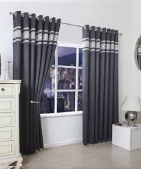 Amazon Com Black And White Curtains By Factoryme Branches Within ...