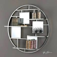 Circular Floating Shelves