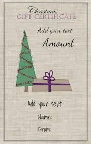 52 Best Christmas Gift Certificates Images Free Christmas