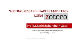 Design Paper For Writing Impressive Writing Research Papers Made Easy Using Zotero