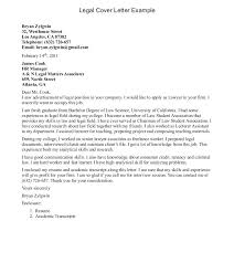 Sample Attorney Cover Letter For Resume Attorney Cover Letter
