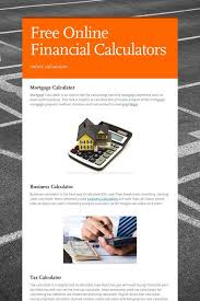 online cash flow calculator free online financial calculators online calculators pinterest