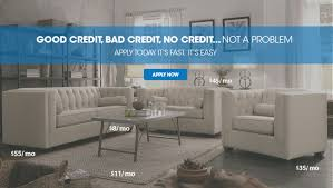 Furniture Furniture Financing For Bad Credit line Home Design