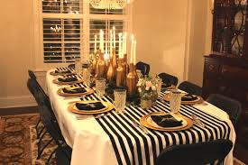 photo 3 of 7 black and gold party decor 3 gold black and white my 30th