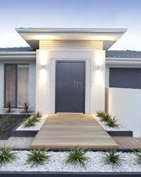 modern front yard front yard design