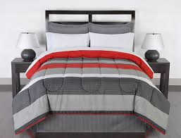 Colormate Complete Bed Set - Greyson Striped &  Adamdwight.com
