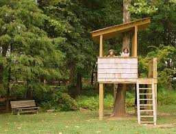 Simple Tree House Ideas Diy Hous On Design Plan Diy Treehouse Plans