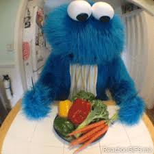 cookie monster dancing gif. Unique Monster Reaction Gifs Tagged Cookie Monster When My Friends Tried To Get Me On A  Diet With Them Throughout Cookie Monster Dancing Gif E