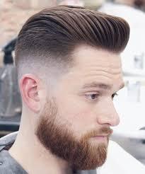 20 Ideen für Mens Pompadour Haircuts - #Haarschnitte #Ideen #Männer  #Pompadour, #für #Ha… | Cool hairstyles for men, Mens hairstyles with  beard, Beard styles short