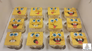 Spongebob Cupcakes My Bliss Baking Llc