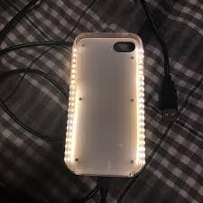 Lumee Light Case Iphone 7 Lumee Light Up Selfie Case Iphone 7 Rose Gold With Depop