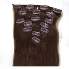 32 Inch Long Premium Straight Clip In Remy Human Hair Extensions