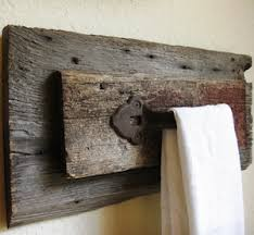 how to build rustic furniture. Rustic Towel Holder 2 Wood Planks + Dark Stain (and Sealer)+ Antique Iron Door Handle Screws How To Build Furniture