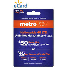 Metropcs Customer Service Email Delivery Metropcs Monthly Unlimited 50 Walmart Com