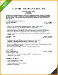 Nanny Ad Sample Nanny Resume Example Example Of Nanny Resume Nanny ...