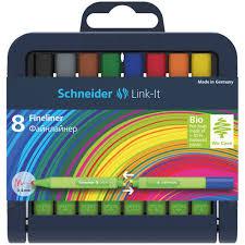 """Набор <b>капиллярных ручек</b> """"Link-It"""" бренда <b>Schneider</b> – купить по ..."""