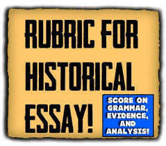 rubric for history essay students self assess their work in four  rubric for history essay students self assess their work in four categories