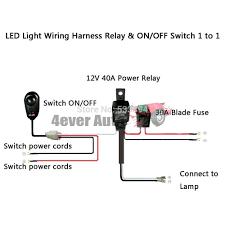 12v led lights wiring diagram images house wiring led strand universal led light bar wiring harness kit for hid led lights andjpg