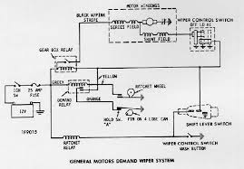 camaro wiring diagrams electrical information troubleshooting wiper motor 1973