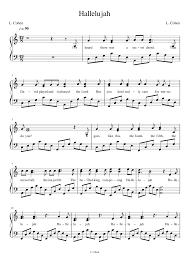 hallelujah piano sheet music pentatonix hallelujah piano sheets piano pinterest piano