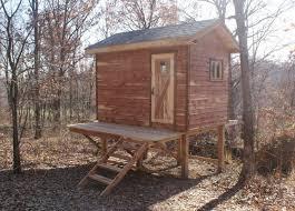 Hunting Cabin Plans   Catalog > Hunting Cabin Kits > 8' x 12' Enclosed
