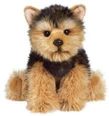 stuffed yorkshire terrier