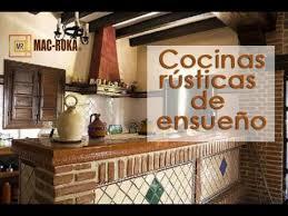 Cocina Rústica Con Madera Blanca  Imágenes Y FotosCocinas De Obras Rusticas