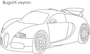 Small Picture Super car Bugatti veyron coloring page for kids