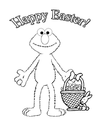 elmo easter coloring page easter crafts for kids all kids network on easter bingo printable