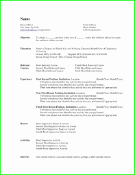 Simple Word Resume Template Simple Resume format New Instant Resume Template Professional for 2