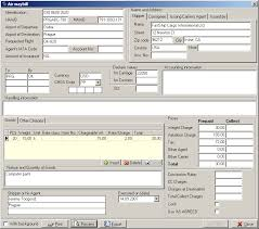 Air Waybill Example And Air Waybill Software Prune Spreadsheet