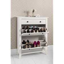shoes storage furniture. Shoe Storage Cabinet Deluxe With Drawer Cotswold In White Shoes Furniture