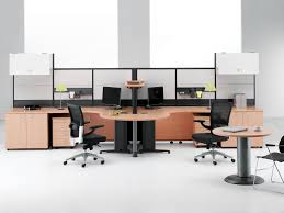 comfortable office furniture. Office : Best Home Designs With Long Desk Plus Small Cabinets Sliding Drawers And Table Lamps Comfortable Chairs An Furniture