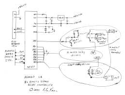 i need some help relays he doesn t specify what to use though as far as relays or transistors go that i ve yet anyway my third question comes from this