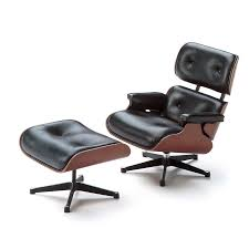 lounge chair and ottoman. Simple Lounge Vitra Miniature 55inch Eames Lounge Chair And Ottoman Throughout And