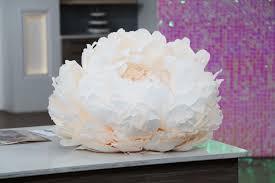 Peony Paper Flower Bomb Peony Paper Flower Tutorial Cityline