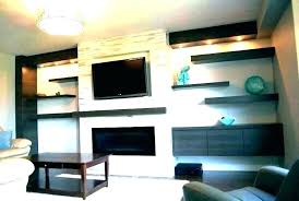floating shelves ideas around fireplace next to shelf above stone modern over decorating shelf over fireplace
