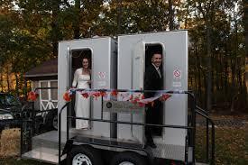 bathroom trailer rental. Brilliant Bathroom Special Portable Toilet Trailers The Luxury Guide For Diy Wedding Brides  Johnny  Inside Bathroom Trailer Rental M