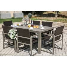 7 piece dining set outdoor patio dining sets e9