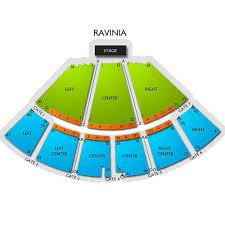 Ravinia Seating Chart Ravinia Tickets